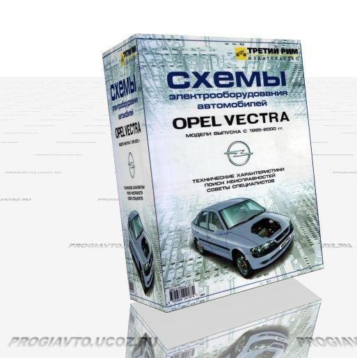 схема подключение стартера на opel vectra.