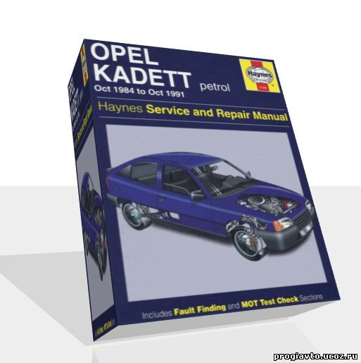 Opel kadett e 1984 1991 manual repair haynes