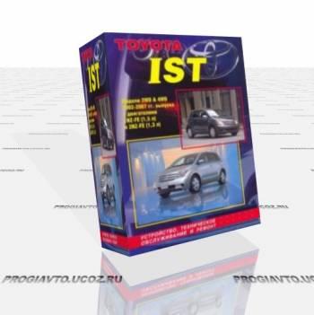 Авто мануал Toyota Ist / Scion xA 2002-2007