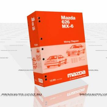 Mazda 626 MX-6. Workshop manual.