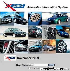 MG Rover EPC (Electronic Parts Catalog) / Aftersales Informa...
