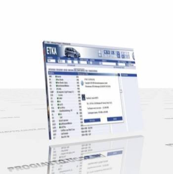 Электронный каталог VW, AUDI, SK, SE - ETKA 7.3